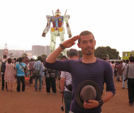 ShigueS leu Gundam há mais de 10 anos atrás(!)